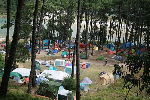 Camping das Illas Cíes / Camping de las Islas Cíes