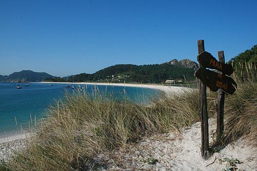 Praia de Rodas / Playa de Rodas